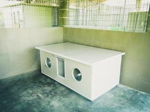 Uno dei box esterni del Centro